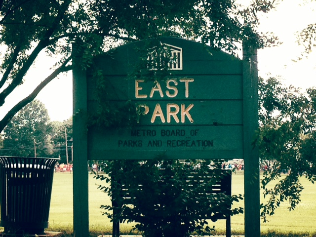 East Park at 700 Woodland Ave. was the site of the Independence Day tradition.